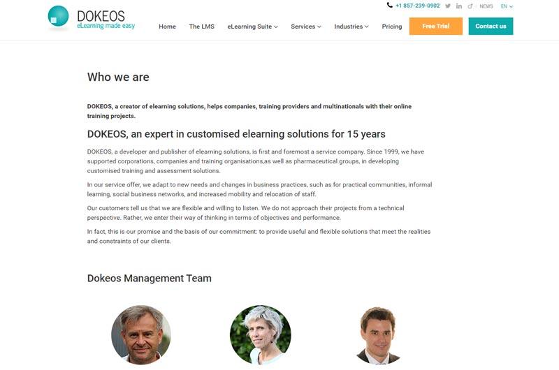 Dokeos - Education and Training UK